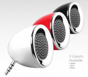 colored speakers