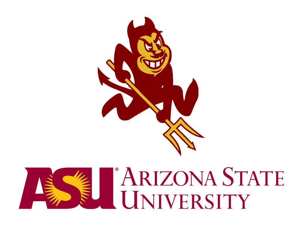 Arizona State University Logo Wallpaper Arizona State University